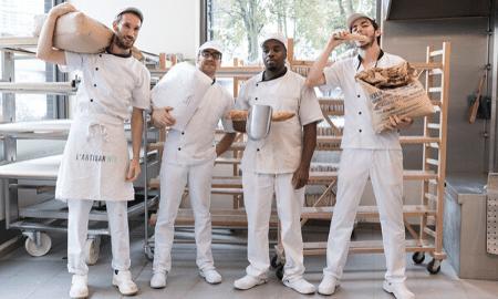 La Boulangerie des Tanneurs fait du pain au levain pour Le Marché Bio
