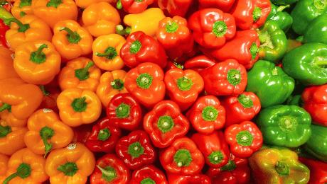 Weet jij alles over de verschillende kleuren van paprika's?