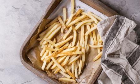 Recept voor verse frietjes uit de oven