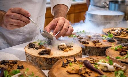 Recette de pâtes aux champignons avec une sauce à la crème végétalienne