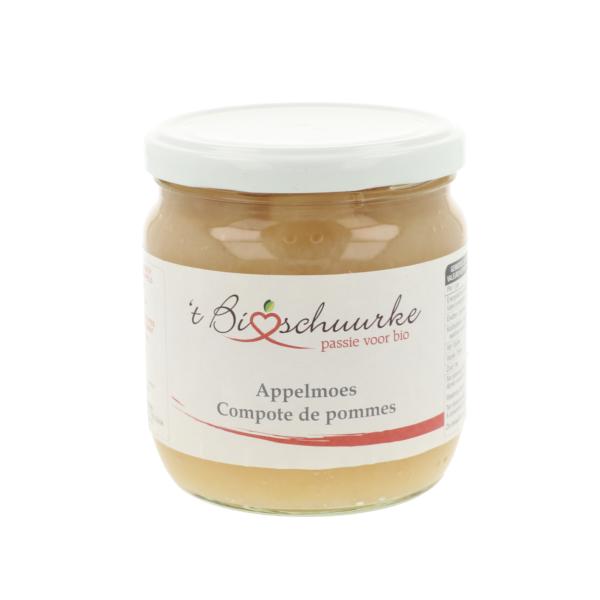 Compote de pommes 't Bioschuurke (0,380 kg)