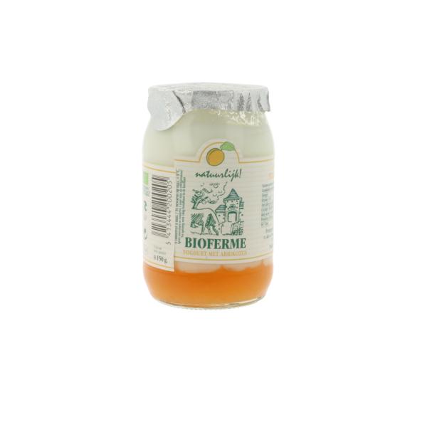 Yaourt aux abricots (0,150 kg)