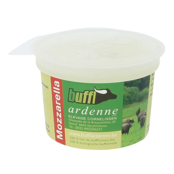 Mozzarella de bufflonne (0,125 kg)