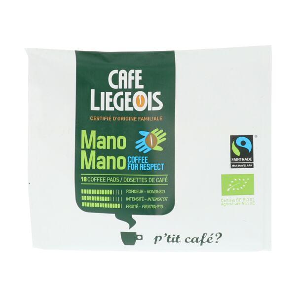 Mano Mano - Dosettes de café (16 pièces)