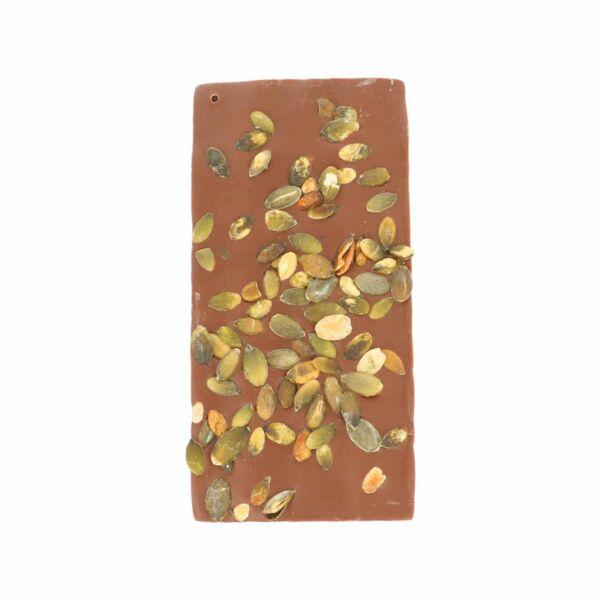 Chocolat au lait avec graines de courge (0,190 kg)