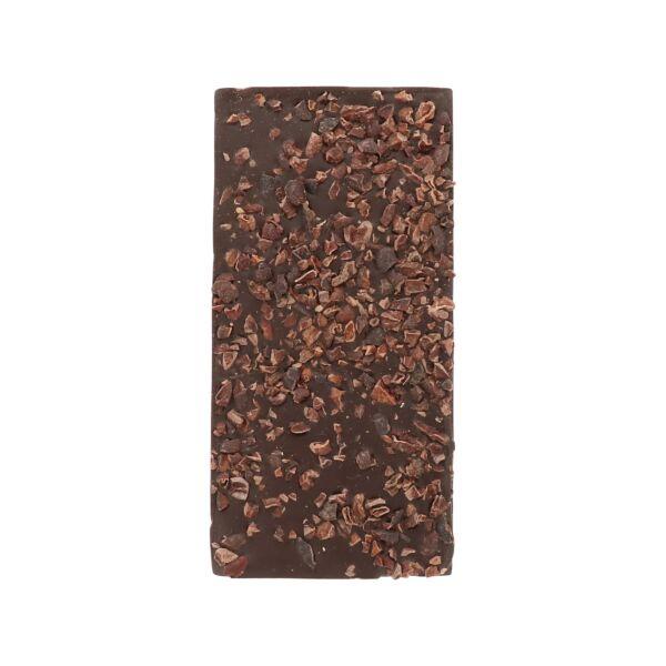 Chocolat noir avec des nibs de cacao (0,190 kg)