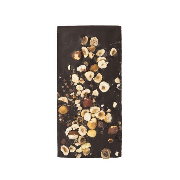 Chocolat noir aux noisettes (0,190 kg)
