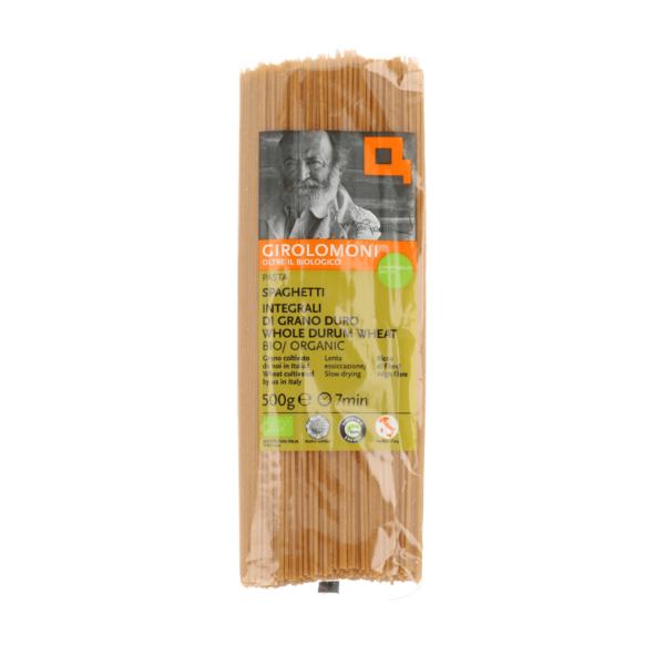 Spaghetti de blé complet