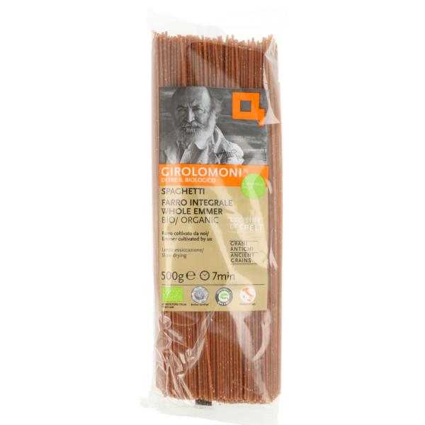 Spaghetti d'épeautre complet