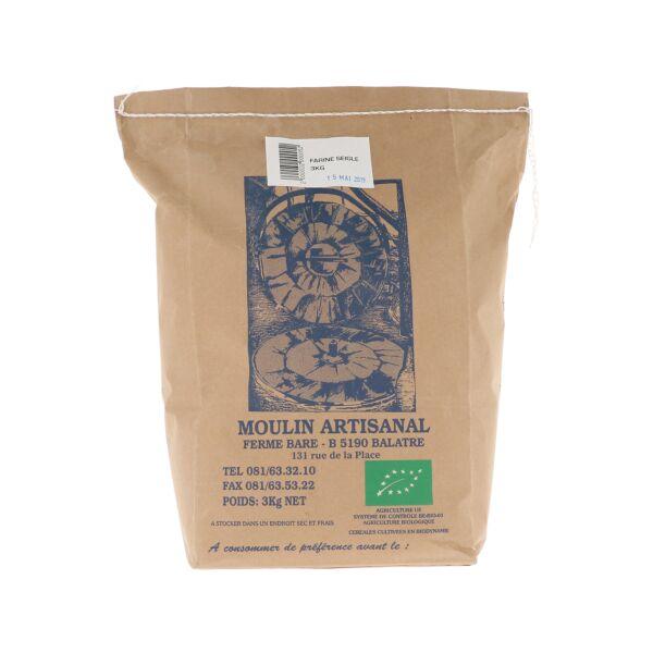 Farine d'épeautre 80% (3 kg)