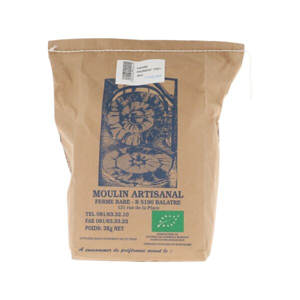 Farine de blé 100% (3 kg)