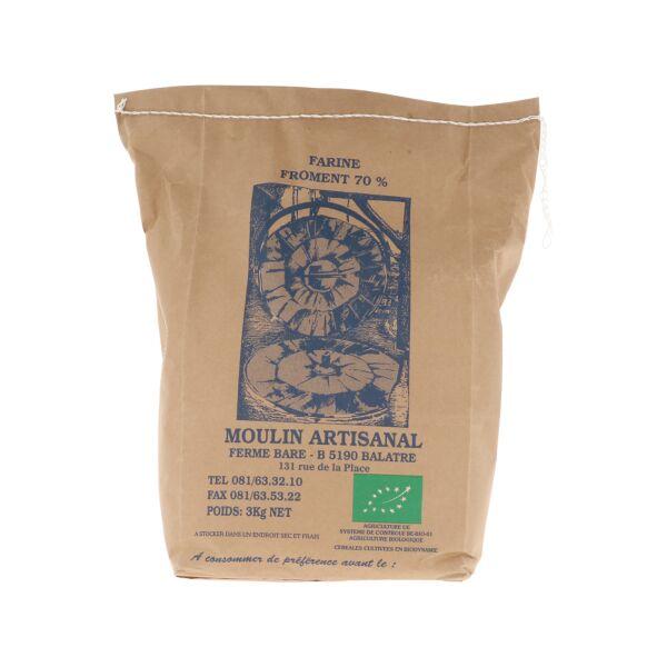 Farine de blé 70% (3 kg)