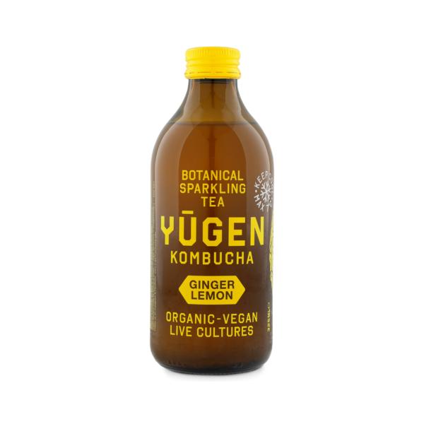 Yugen Kombucha - Gingembre et citron (0,33 l)